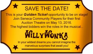Willy Wonka Auction Theatre