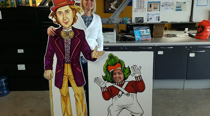 Wonka Cutouts at FL1